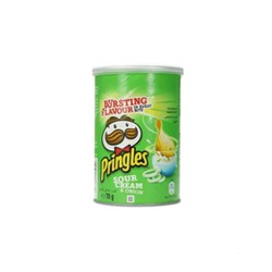 Pringles hot and spicy Chips 1 x 200g