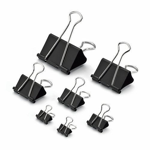 "BINDER CLIPS3/4""19MM 1X12PCS/PKT"