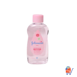Johnsons baby oil pure & gentle daily care 200ml