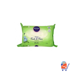 Nivea baby wipes, Aloe Vera Flavor 1 x 63 wipes