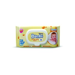 Sanita Bambi moisturizing Lotion wipes 1 x 56 wipes