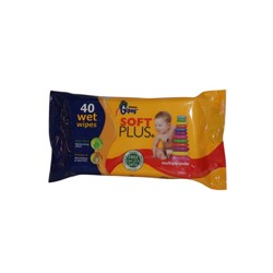 Sanita Gipsy Soft Plus Alovera Moisturizing effect , Baby Wet wipes 1 x 40