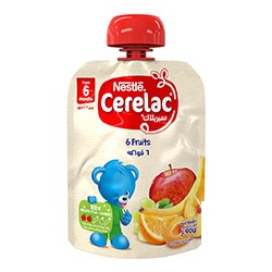 NESTLE Cerelac 6 Fruits 90gm