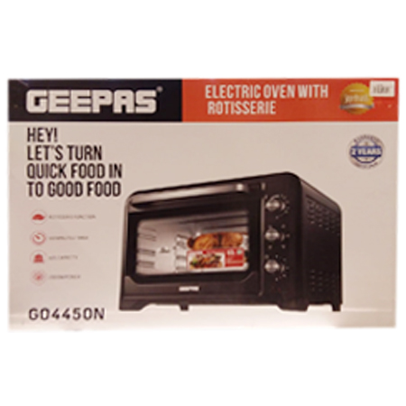 GEEPAS Electric oven with Rotisserie