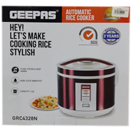 GEEPAS Automatic Rice Cooker