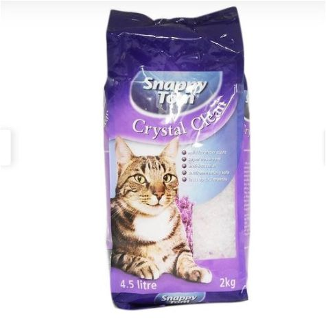 Snappy Tom Crystal Clean Cat Litter Lavender 2kg