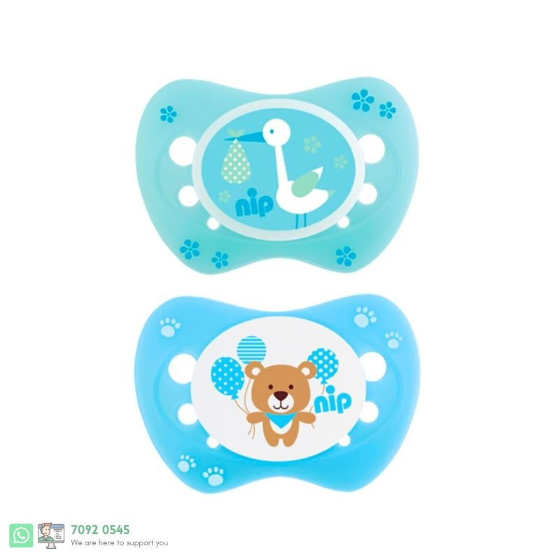 NEW BORN SOOTHER SILICONE 0 M+[313040]  125283