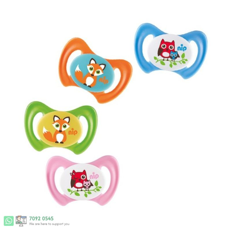 DENTI SOOTHER SILICONE-SIZE:1- 0-6 M [318007]  125313