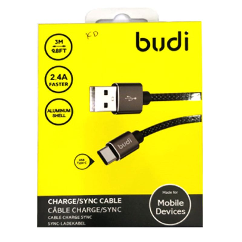 Budi Charge / Sing Cable C Type  3M, 9.8FT