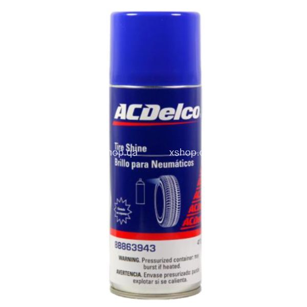 AcDelco Cars Tire Shine n Alloy Wheel Cleaner  368g