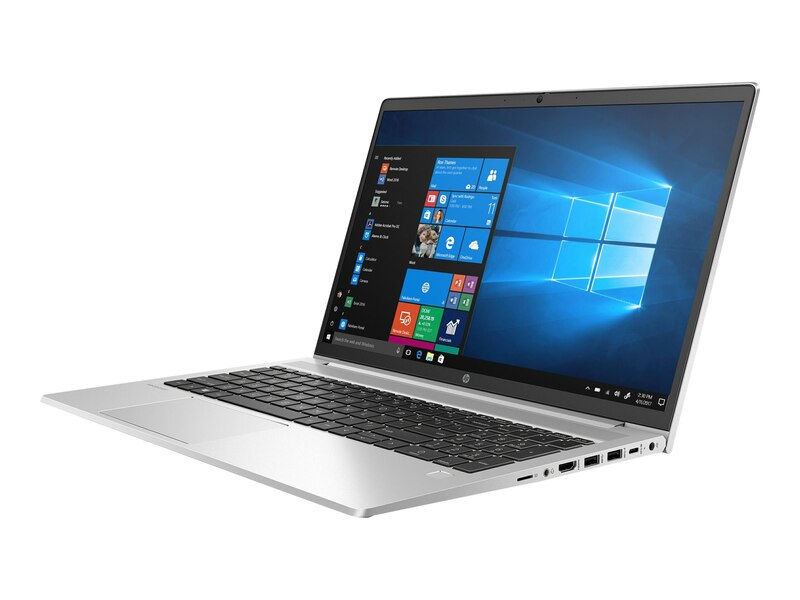HP PROBOOK 450 G8 Intel® Core™ i5 - 1135G7 with Intel® 2.4 GHz base frequency, up to 4.2 GHz , 8GB RAM, 1 TB HDD + 512 GB SSD, MX450 2GB GRAPHICS CARD, 15.6 LED Screen,  WIN 10 Pro