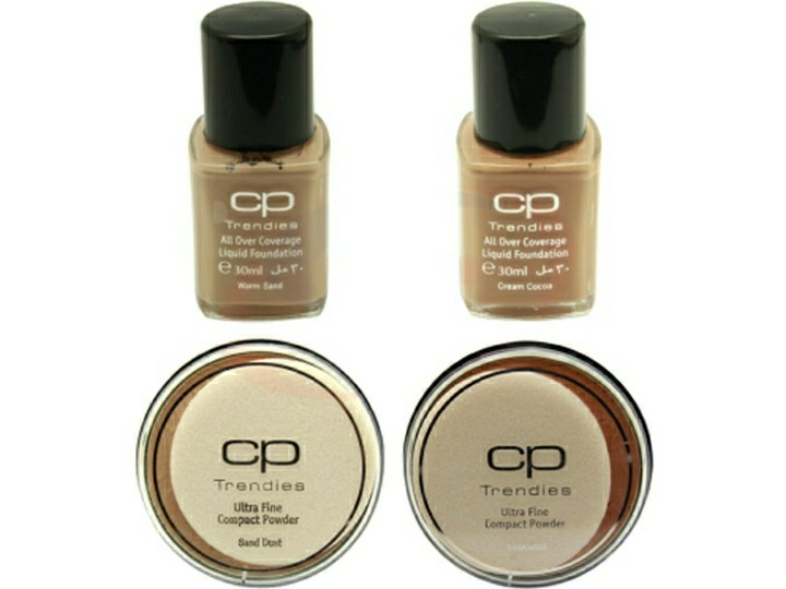 CP compact with foundation cream