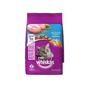 Whiskas ocean Fish Flavor cat food , 1.2kg