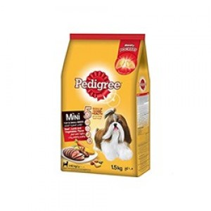 Pedigree Mini Dog food 1.5kg