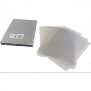CLEAR PVC BINDING SHEET A4 (180GSM)1X100 PCS/PKT