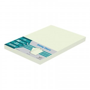 A4 CORRIGATED BINDING SHEET 230 GSM 1X100 SHEETS