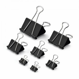 "BINDER CLIPS 1""25MM 1X12PCS/PKT"