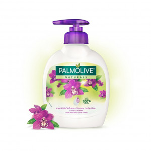 Palmolive naturals liquid hand soap with orchid 100%natural 1 x 300 ml
