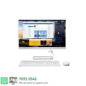 LENOVO AIO-3 All-in-one core i5 - 10210 | 8 GB RAM | 1 TB HDD + 128 GB SSD | 2 GB Graphics Card | DVD Drive | 24'' Inch touch Screen | USB Keyboard & Mouse | Dos | 1 Year Warranty