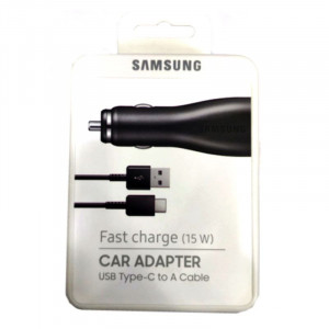SAMSUNG Fast charge (15W )car adapter USB Type-C to A cable