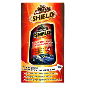Armor All Shield Better Than Wax for Car