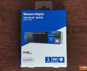 WD Blue SN550 500GB NVMe SSD for Laptop