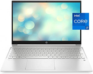 HP 15 DW3009 core i7 - 11665G7 / 16GB RAM / 512GB -SSD /2GB Graphics Card- NVIDIA - MX - 450 / 15.6 FHD Display / DOS / Natural Silver